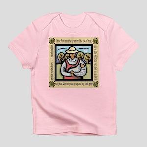 Vegetarian da Vinci Quote Infant T-Shirt