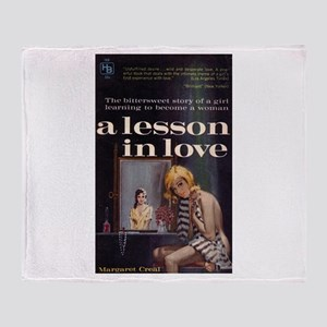 A Lesson in Love Throw Blanket