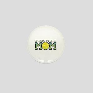 Tennis Mom Mini Button