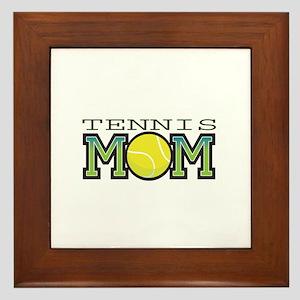 Tennis Mom Framed Tile