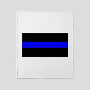 Throw Blanket - Thin Blue Line - High Quality