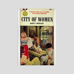 City of Women Rectangle Magnet
