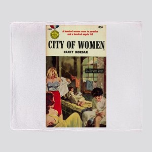City of Women Throw Blanket