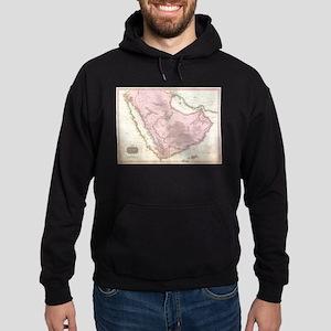 Vintage Map of Saudi Arabia (1818) Sweatshirt