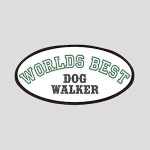 Worlds Best Dog Walker Patches