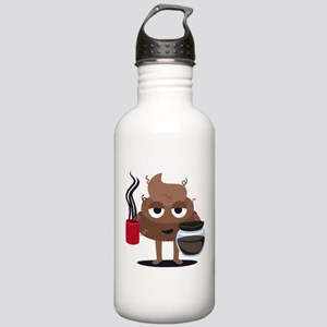 Coffee Stainless Water Bottle 1.0L