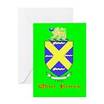 Clan Furey Greeting Card