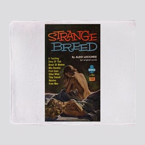 Strange Breed Throw Blanket