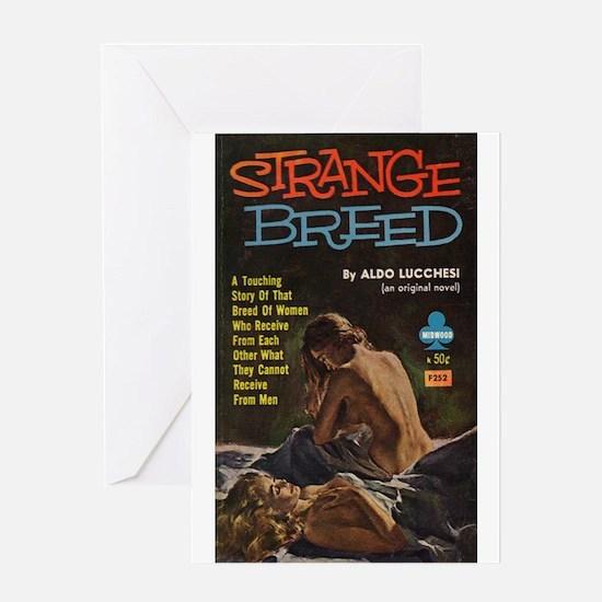 Strange Breed Greeting Card