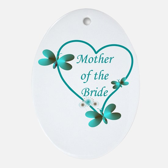 Mother of the bride Ornament (Oval)