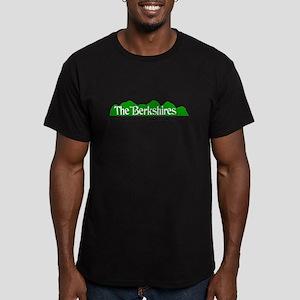 The Berkshires Men's Fitted T-Shirt (dark)
