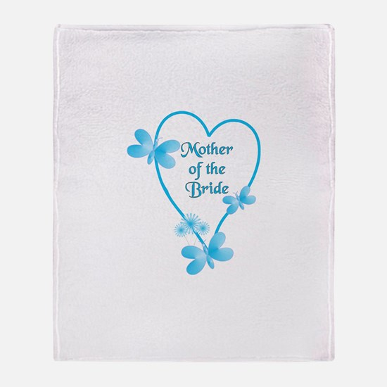 Cute Mother of the bride Throw Blanket
