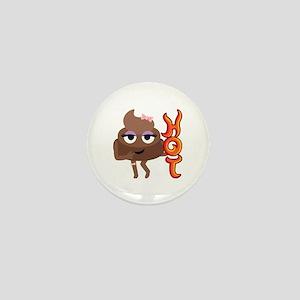 Hot Shit Mini Button