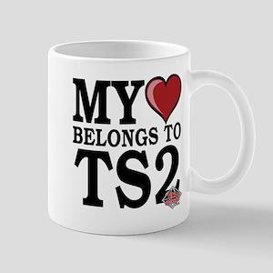 My Heart Belongs To TS2 Mug