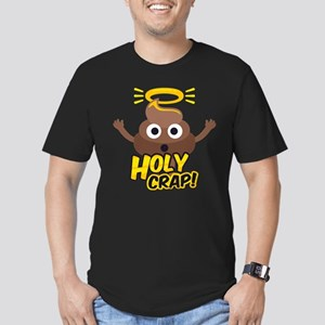 Holy Crap! Men's Fitted T-Shirt (dark)