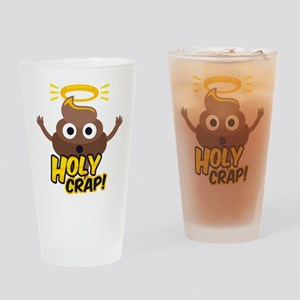 Holy Crap! Drinking Glass