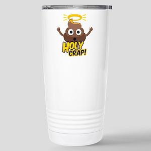 Holy Crap! 16 oz Stainless Steel Travel Mug