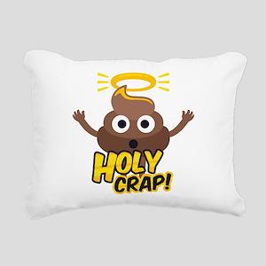 Holy Crap! Rectangular Canvas Pillow