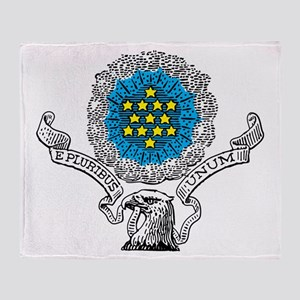 E Pluribus Unum Throw Blanket