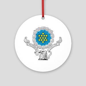E Pluribus Unum Ornament (Round)