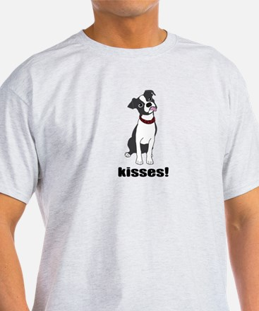 Boston Terrier Puppy Kisses T-Shirt