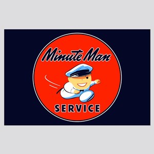 Minute Man Service Large Poster