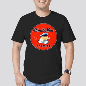 Minute Man Service Men's Fitted T-Shirt (dark)