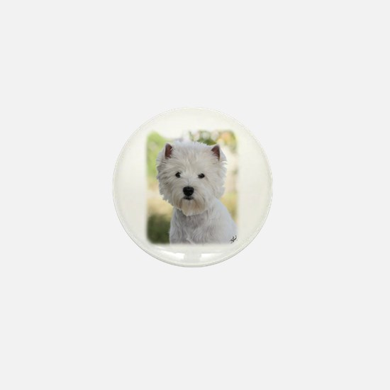 West Highland White Terrier 9Y788D-385 Mini Button