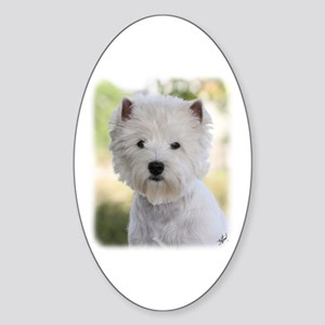 West Highland White Terrier 9Y788D-385 Sticker (Ov