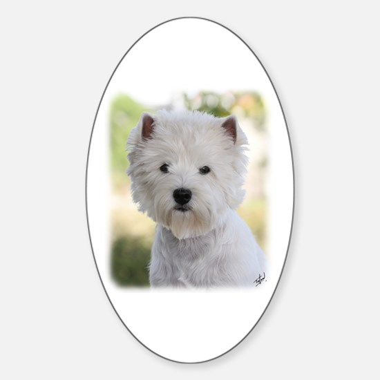 West Highland White Terrier 9Y788D-385 Decal