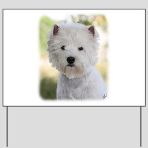 West Highland White Terrier 9Y788D-385 Yard Sign
