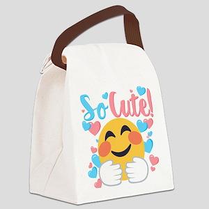 So Cute! Canvas Lunch Bag
