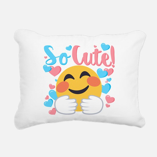 So Cute! Rectangular Canvas Pillow