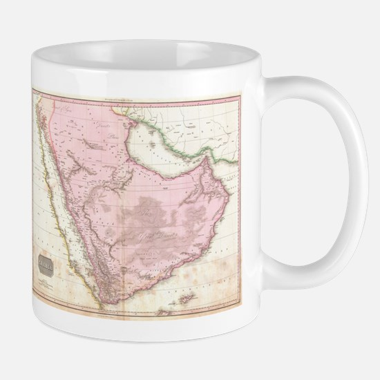 Vintage Map of Saudi Arabia (1818) Mugs