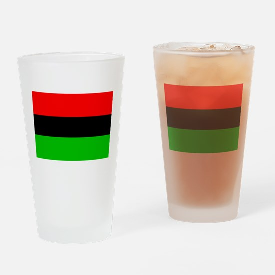 African-American Flag Total Drinking Glass