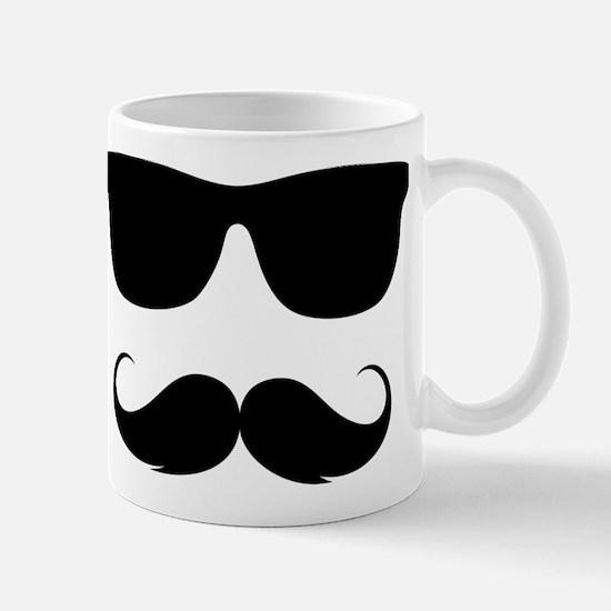 cool moustache Mug