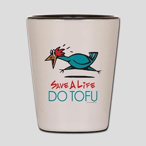 Veggie Tofu Shot Glass