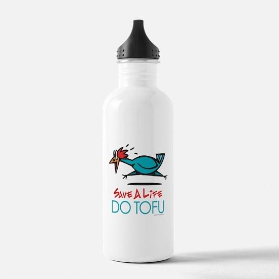 Veggie Tofu Sports Water Bottle