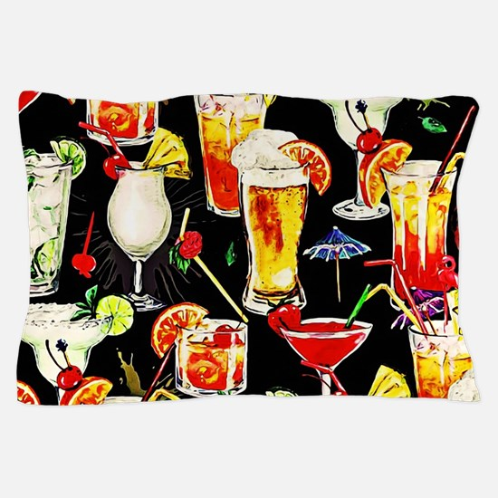 Cocktail Hour in the Tropics Pillow Case