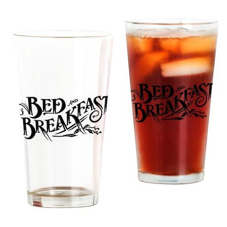 Bed & Breakfast Drinking Glass