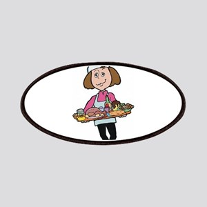 Woman Chef Patches