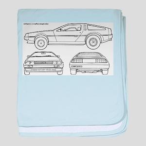 DeLorein baby blanket