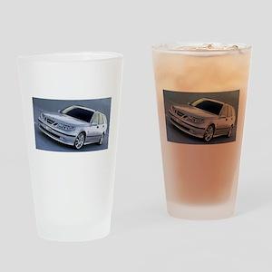 Saab 9.5 Drinking Glass
