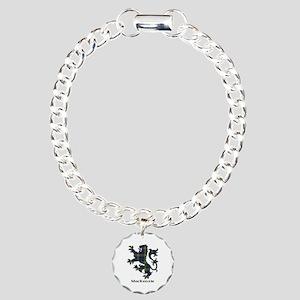 Lion-MacKenzie htg grn Charm Bracelet, One Charm