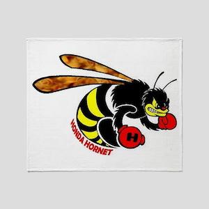 Honda Hornet Throw Blanket