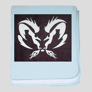 Ram Sign baby blanket