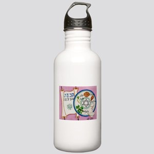 Passover Plate Stainless Water Bottle 1.0L
