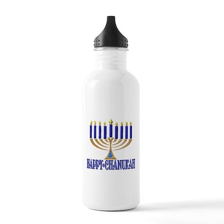 Menorah Stainless Water Bottle 1.0L