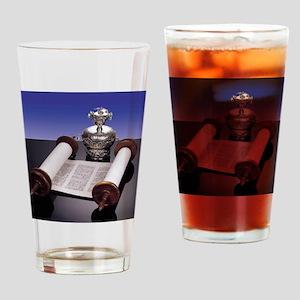 Torah Crown Drinking Glass