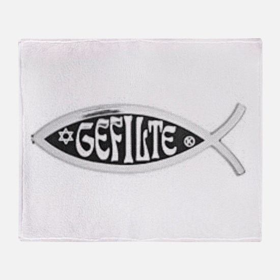 Gefilte Throw Blanket